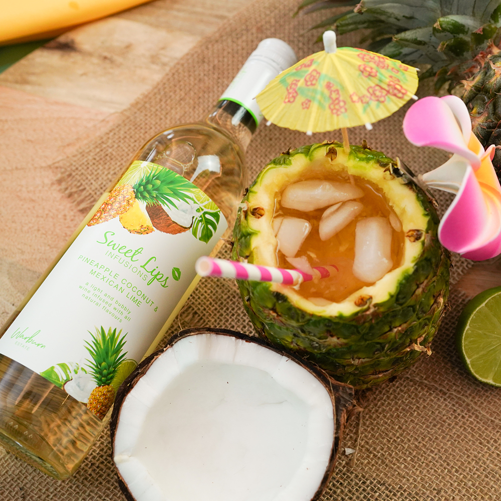 Pineapple Coconut & Mexican Lime -