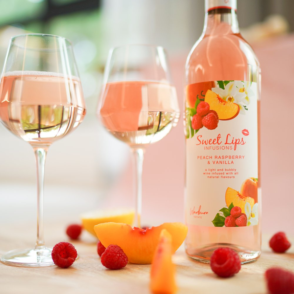 Peach Raspberry & Vanilla -